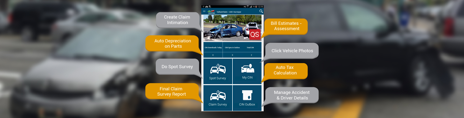 Surveyor Mobile App